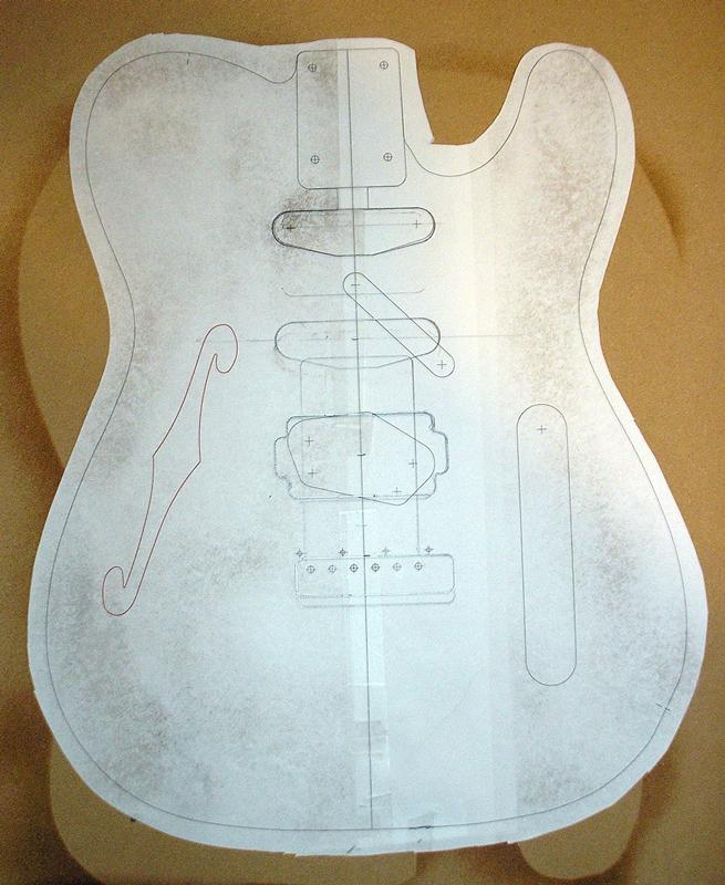 Telecaster+body+templates